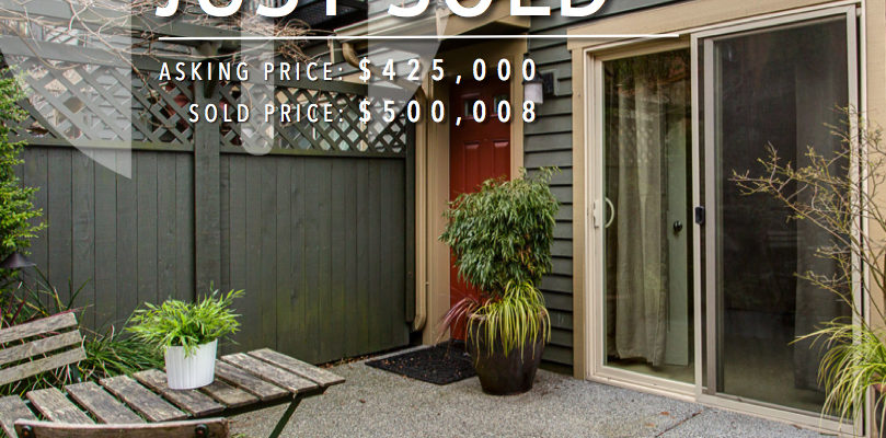 Just Sold, Genesee Townhome, Nearly 18% Above The Asking Price